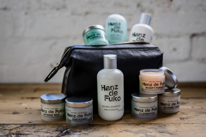 Hanz de Fuko hair products