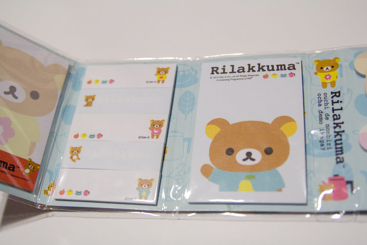 Rilakkuma notes