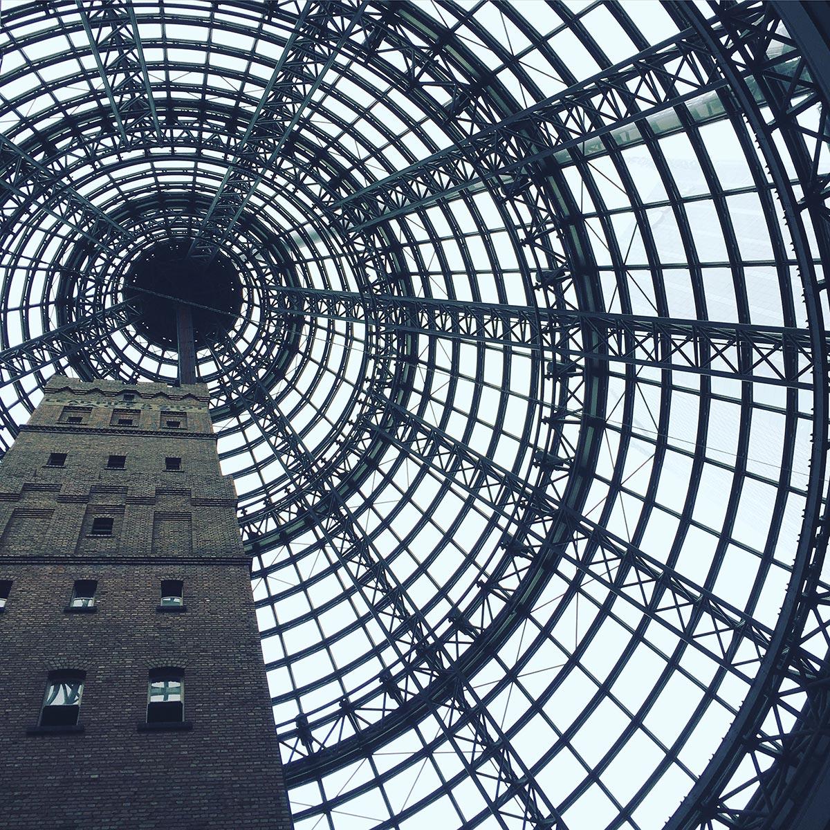 Inside Melbourne Central