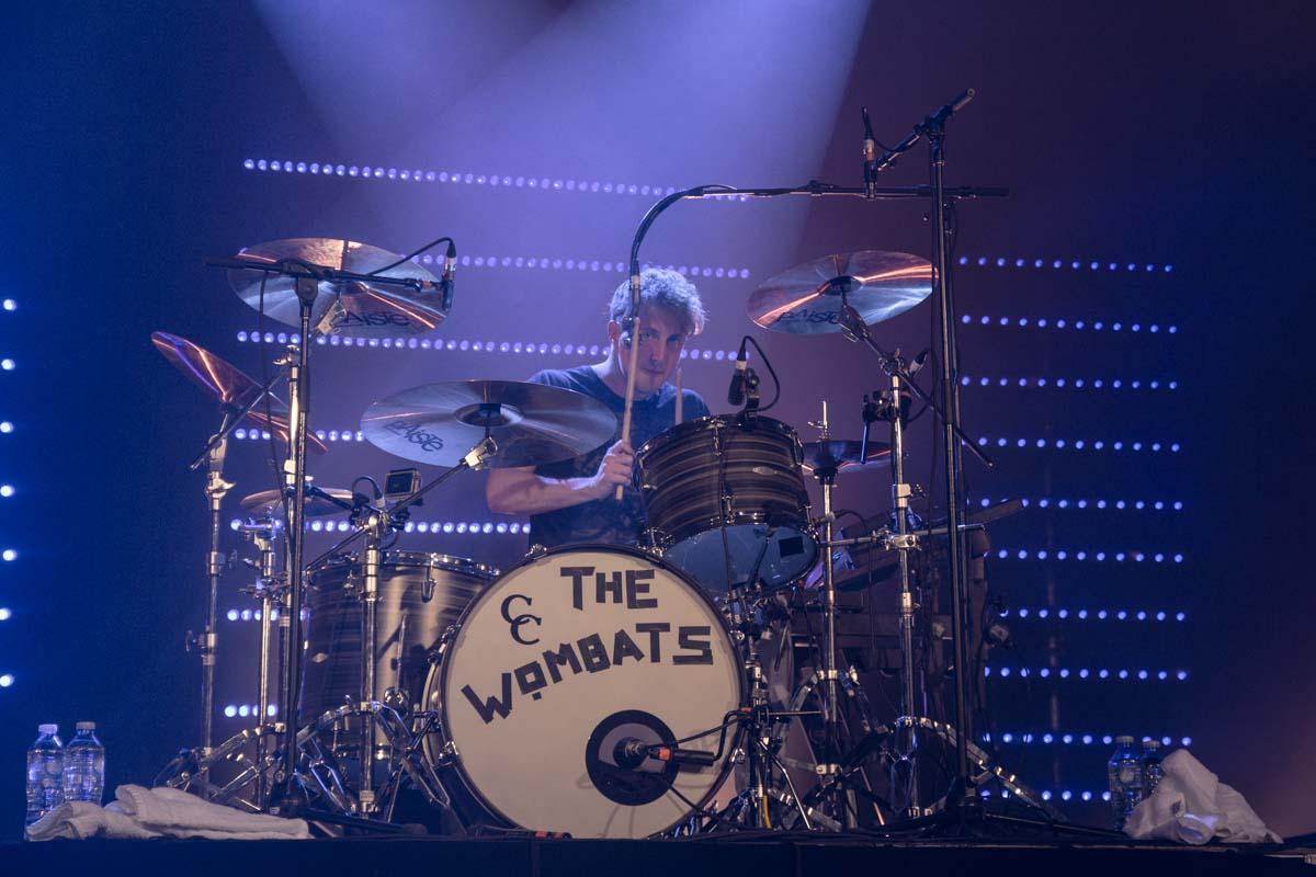 Dan Haggis of The Wombats